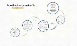 La auditoría en comunicación