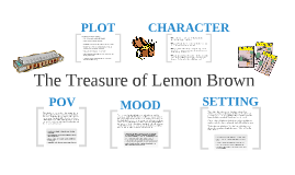 analysis of the treasure of lemon brown The treasure of lemon brown although the treasure of lemon brown is a short story, there are many lessons students can learn from reading about a young man who is failing in school, a parent's.