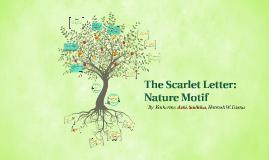 The Scarlett Letter: Nature Motif