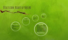 Discussion: Rights of Nature