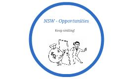NSW OPPORTUNITIES
