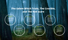 salem witch trials red scare Mccarthy and the red scare  the crucible, which draws a parallel between  the salem witch trials of 1692, to the modern day witch hunt of mccarthyism.
