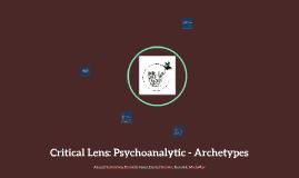 Psychoanalytic: Archetypes