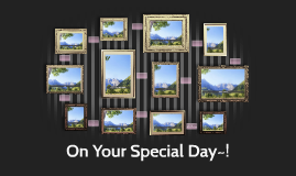 On Your Special Day~!