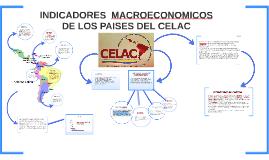 Copy of INDICADORES  MACROECONOMICOS                DE LOS PAISES DE