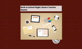 Teacher's Back to School Night Template