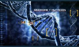 sindrome y mutacion