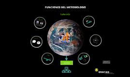 TAEKWONDO FUNCIONES DEL METODOLOGO