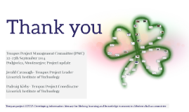 Tempus Project Management Committee (PMC)  22-25th September 2014 Podgorica, Montenegro: Project update
