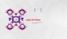 1930s Film History