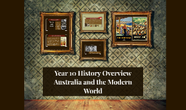 Year 10 History Overview