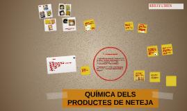 QUÍMICA DELS PRODUCTES DE NETEJA