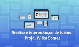 Análise e interpretação de textos