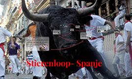 Stierenloop- Spanje