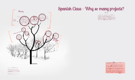Spanish Class - Why so many projects?