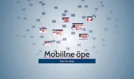 Mobiilne õpe