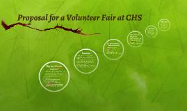 Proposal for a Volunteer Fair