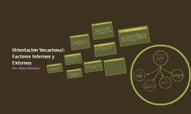 Copy of Orientación Vocacional: Factores Internos y Externos