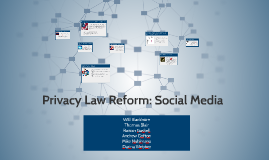 Privacy Law Reform