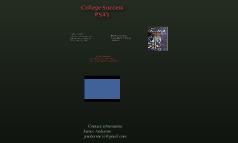 College Success PSA's