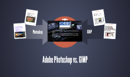 Adobe Photoshop vs. GIMP