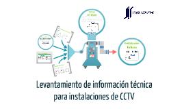 Levantamiento de información técnica para CCTV
