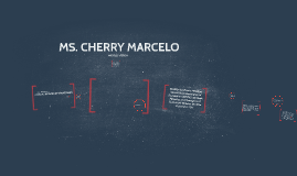 MS. CHERRY MERCADO