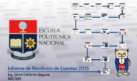 Informe de Rendición de Cuentas - 2016