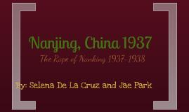 Nanjing, China 1937