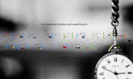 Copy of Linea tiempo - Planificación