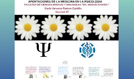 APORTACIONES DE LA MEDICINA EN LA PSICOLOIGIA