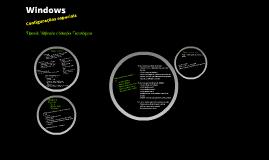 Windows - Configurações Especiais