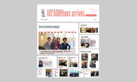 2015 /Les nouveaux arrivés 2015