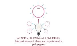 ATENCION EDUCATIVA A LA DIVERSIDAD