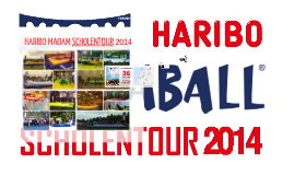 HARIBO/MAOAM BOSSABALL SCHOOLTOUR 2014