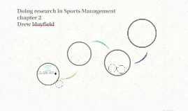 Doing research in Sports Management