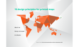 Copy of 10 design principles for printed maps