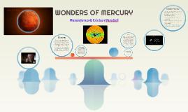 Wonders of Mercury