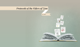 Protocols of the Elders of Zion