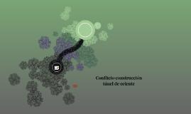 Conflicto construcción túnel de oriente