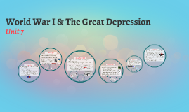 World War I & the Great Depression
