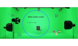 Multi media ruimte