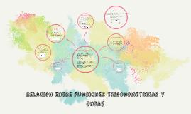Relacion entre funciones trigonometricas y ondas