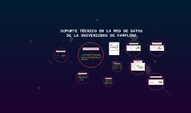 SOPORTE TECNICO EN LA RED DE DATOS DE LA UNIVERSIDAD DE PAMP