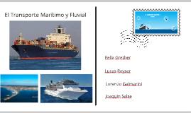Transporte Marítimo y Fluvial