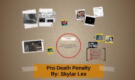 Pro Death Penalty