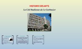 La Cité Radieuse de Le Corbusier