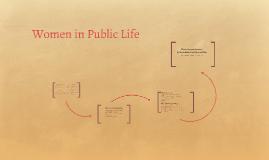 Women in Public Life