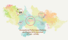 Occupational Performance Patterns