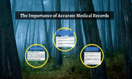 The Importance of Accurate Medical Records